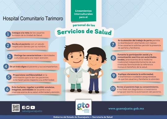 Lineamientos de Interculturalidad para el personal de Salud